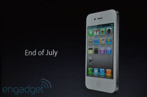 iphone 4 release date white iphone 4 release date in canada