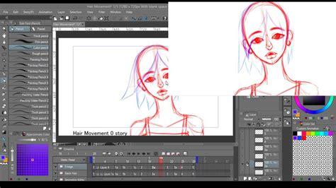 clip studio studio clip studio paint animation livestream
