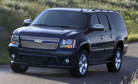 chevrolet suburban car and driver