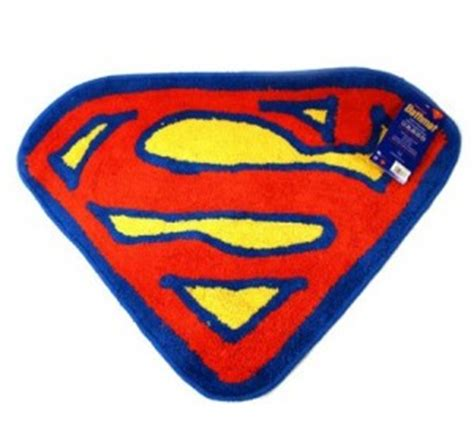 superman bathroom accessories superman bath mat collection