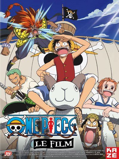 film one piece lista one piece le film la critique test dvd