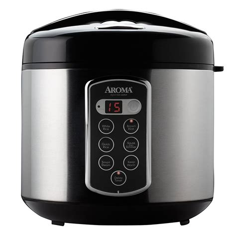 Rice Cooker Digital Quantum aroma housewares arc 2000sb 20 cup digital rice cooker