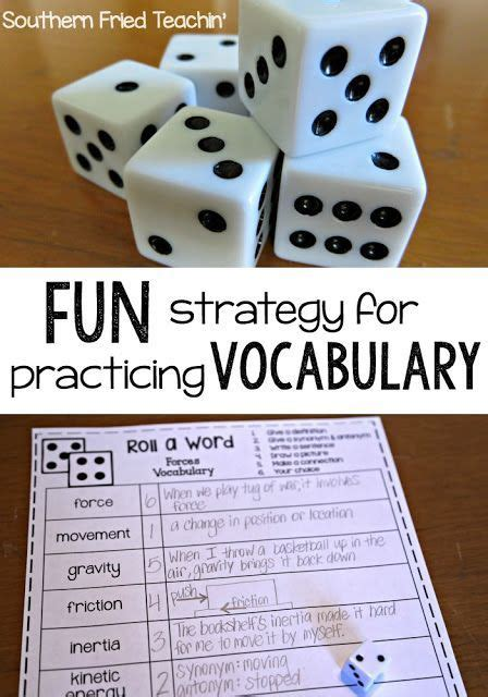 vocabulary study this simple one looking for an easy and teaching idea for your