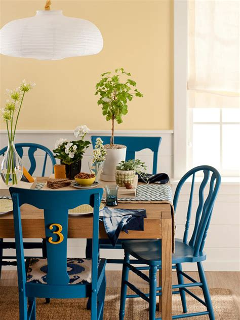 different ways to paint a table bhg style spotters