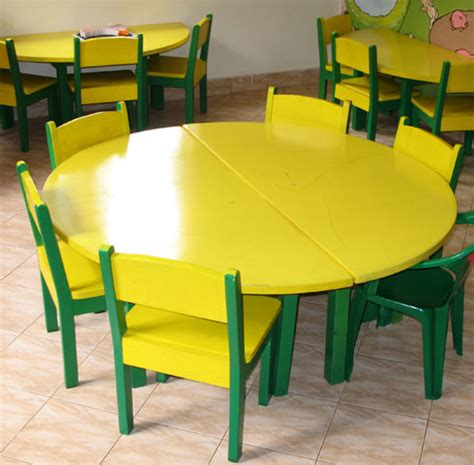 kindergarten table and chairs nursery chairs and tables thenurseries