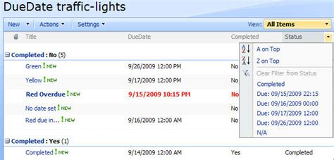 date format javascript filter compare duedate with today in list view sharepoint