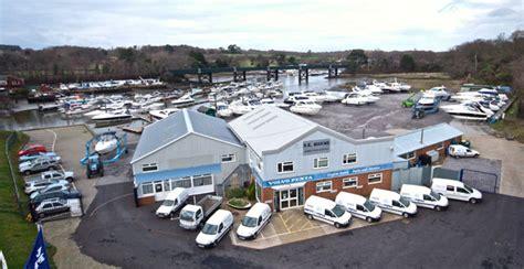 the open boat purpose new volvo penta service facility in hamble boats