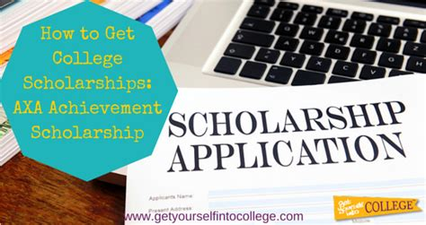 Getting The Scholarship If You Are Getting Mba by How To Get College Scholarships Axa Achievement