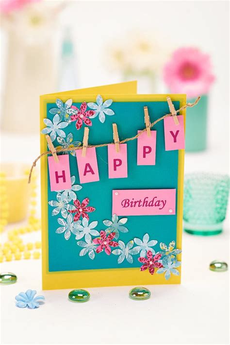 Easy Gift Card - 3 easy cards to make today hobbycraft blog