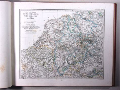 P Stielers Atlas 6e Druk 1875 1881