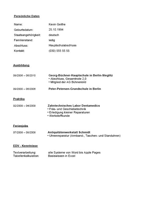 Bewerbung Initiativbewerbung Als Feinwerkmechaniker Bewerbung Ausbildungsplatz Feinwerkmechaniker Lebenslauf