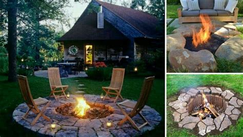 diy fire pit tutorials stay warm  cozy