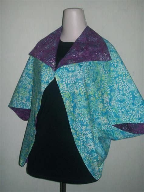 Terlaris Kemeja Batik Godong Biru jual murah bolero batik bolak balik yang modern dan