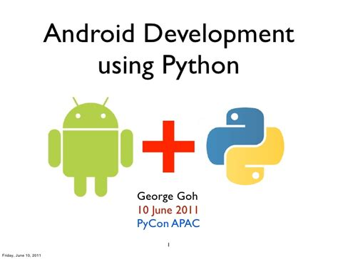android programming pycon2011 android programming using python