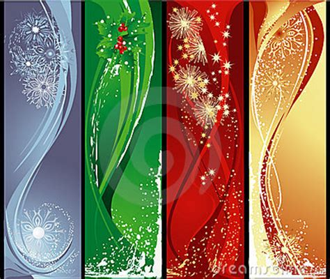 christmas vertical banners stock photography image