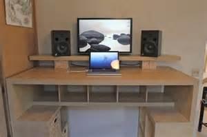 diy standing desk ideas budget home mad