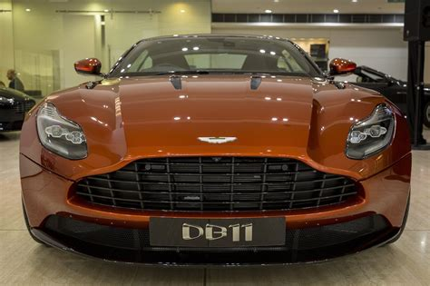 aston martin front aston martin db11 lands in australia priced from 428 032