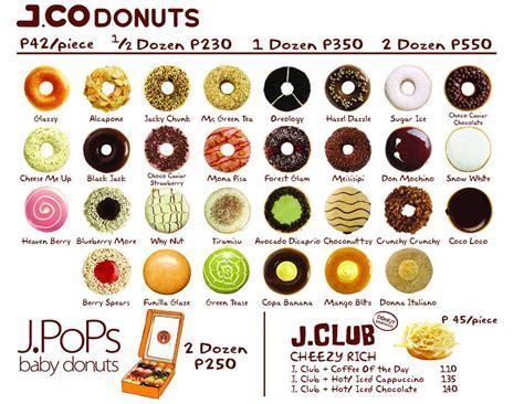 Menu Dan Jco Coffee harga jco donuts terbaru mei juni 2016 sekilas harga
