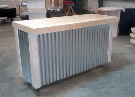 Outdoor Bar 191 by Custom Made Corrugated Metal Bar Backyard Ideas