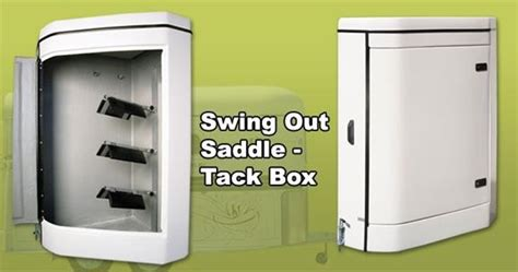 swing out tack box for horse float horse float tack box top horse