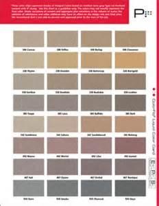 brickform color hardener standard color selection guide for brickform color