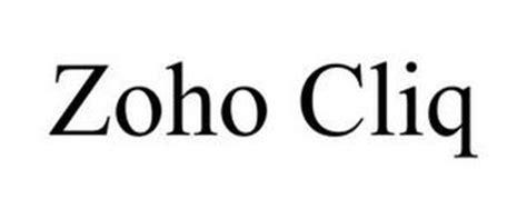 zoho cliq trademark  zoho corporation private limited
