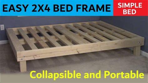 queen bed cheap easy portable   queen bed