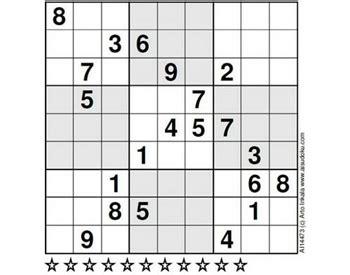 sudoku samurai para imprimir nivel difcil juego sudoku el sudoku m 225 s dif 237 cil del mundo microsiervos juegos y