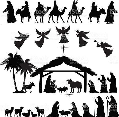 nativity silhouette clip free nativity silhouette clip www imgkid the image