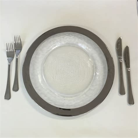 How To Decorate A Charger Plate by Silver Charger Plate Harbourside Decorators