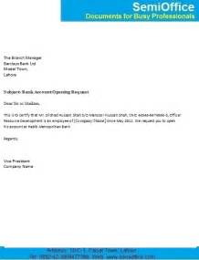 Authorization Letter For Bank Account Opening Company Authorization Letter For Bank Account Opening