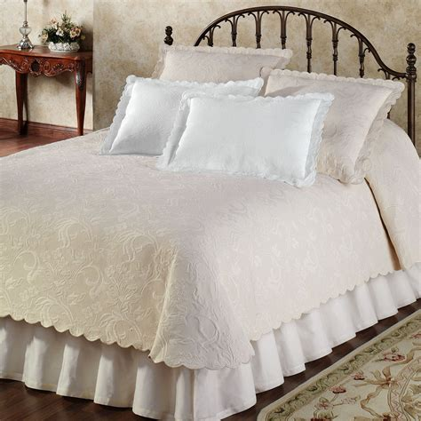 double bed coverlets botanica woven matelasse coverlet bedding