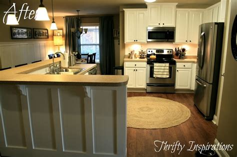 kitchen island painted black corbels counter top cabinets kitchen islands pinterest board and batten kitchen island with corbels thrifty