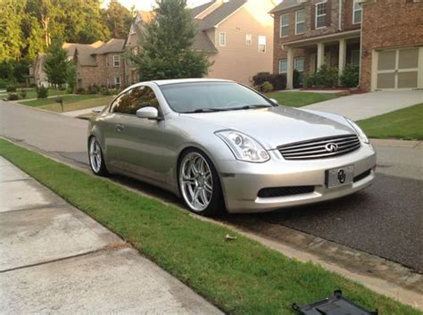 how petrol cars work 2003 infiniti g auto manual find used 2003 infiniti g35 coupe modified work wheels coilovers much more in