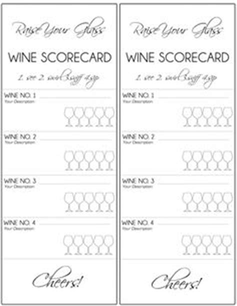 free wine tasting card template hosting a wine tasting with free printables