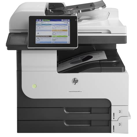 Printer Hp A3 Color hp laserjet enterprise m725dn a3 mono multifunction laser printer cf066a