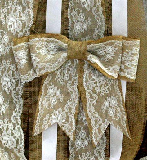 burlap pew bows burlap wedding decor shabby chic by