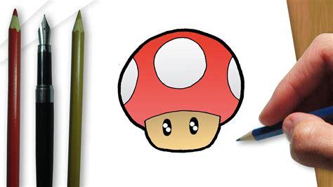 imagenes de hongos faciles para dibujar c 243 mo dibujar un hongo de mario bros youtube