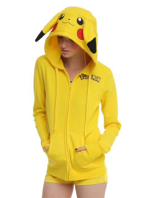 Pikachu Sweater check this out pikachu costume hoodie