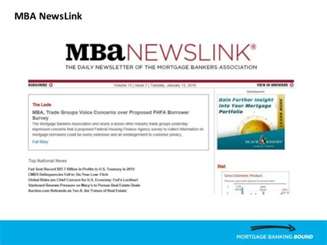 Mba In Banking Profile by Cadc Mba Presents Careers In Residential Mrtgage Banking