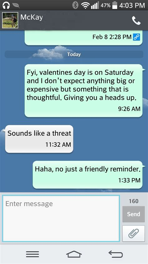 valentines text 5 ways to avoid a disappointing s day