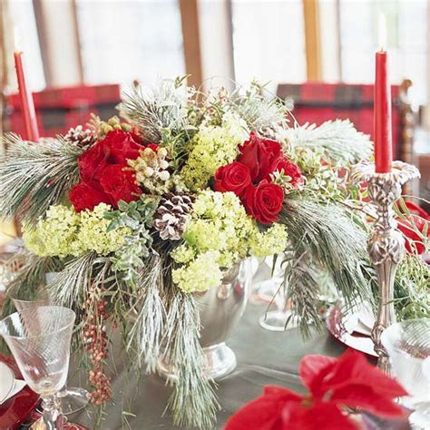 fresh christmas centerpieces 44 flower arrangements for