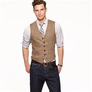 Vests are great to dress up jeans especially if the jeans are a dark