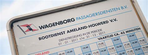 boot ameland wpd fahrplan ameland wagenborg passagiersdiensten