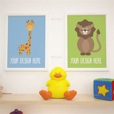room mockup 12 children room gallery mockups pack by purplevisions