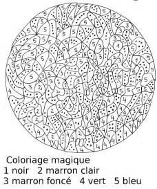 Coloriage Magique Cheval Ce L L L L L L L L L