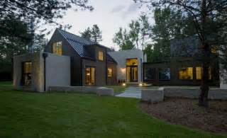 traditional modern home colorado home with modern amenities and farmhouse flair