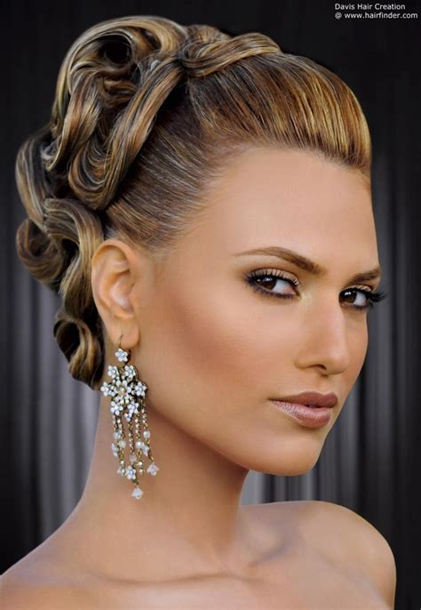 ballroom hair styles with bangs ballroom hairstyle health and beauty pinterest