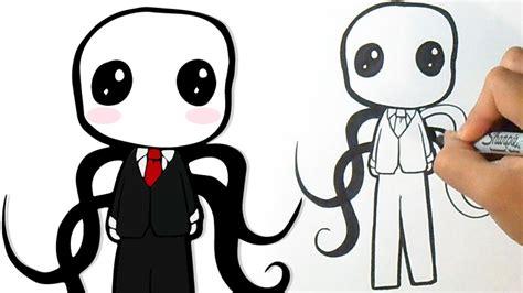 imagenes de foxy kawaii para dibujar como desenhar lindo slender man youtube