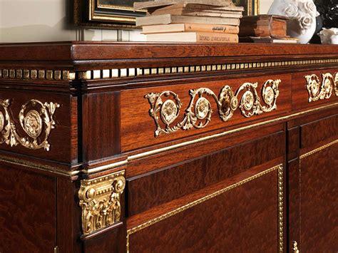 stile impero mobili credenza stile impero con fregi in ottone vimercati meda